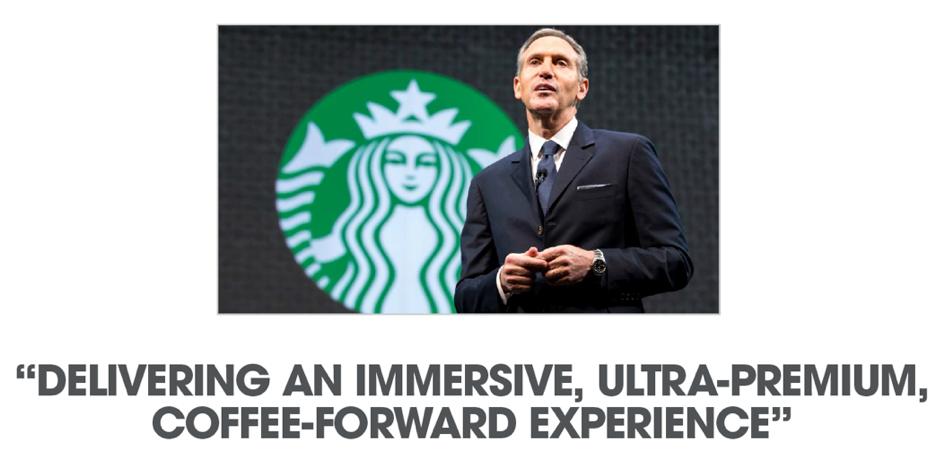 Bullshit-copywriting: Zou iemand dit antwoorden op de vraag wat Starbucks doet?