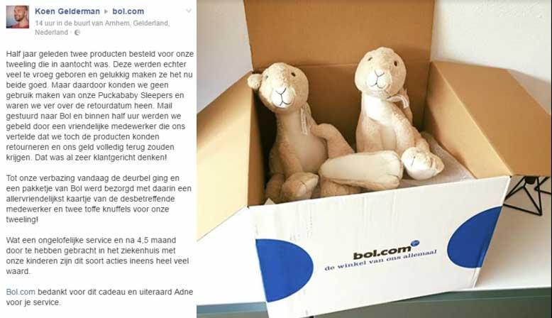 De customer service van Bol maakt dat klanten ambassadors worden