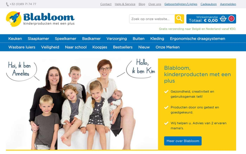 Blabloom: alle kinderspullen getest door ouders